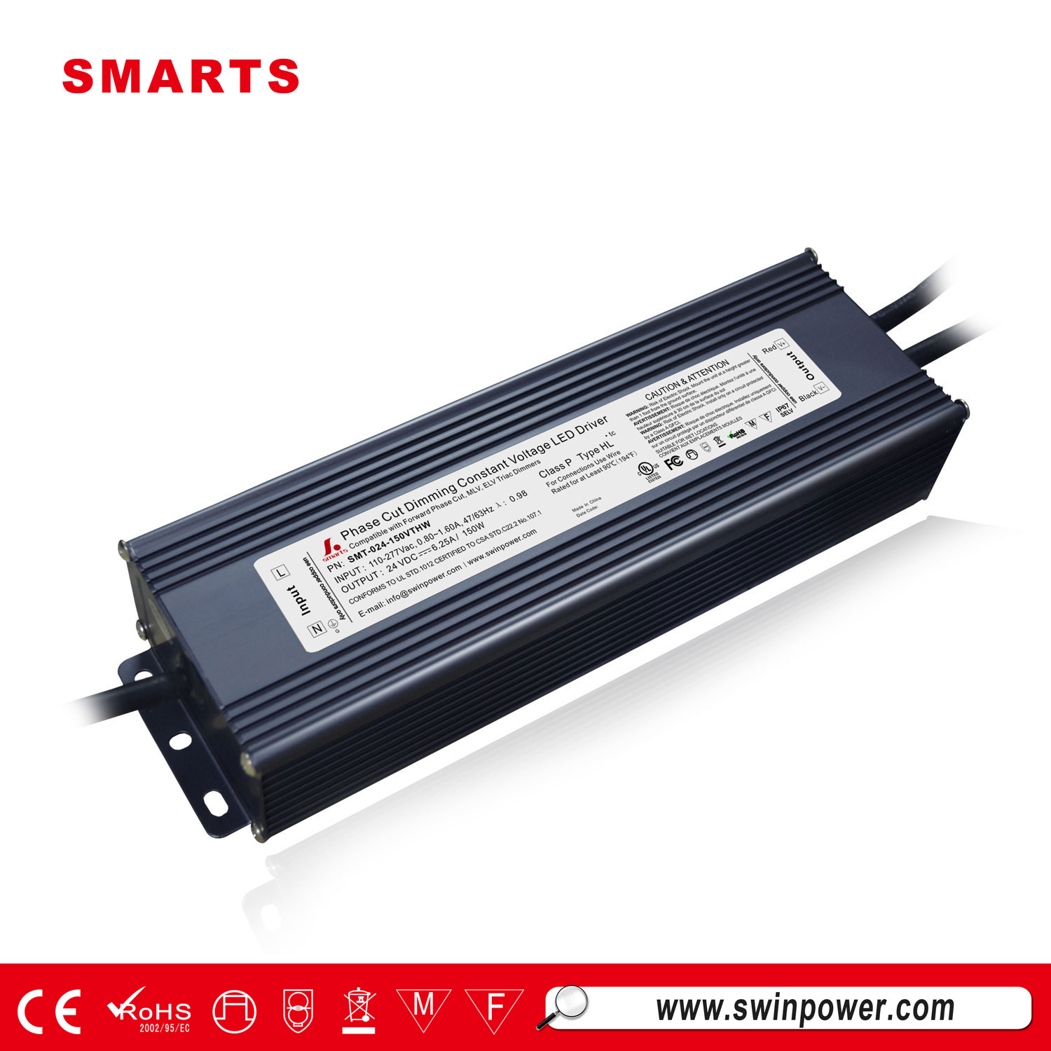 UL triac dimmable led driver