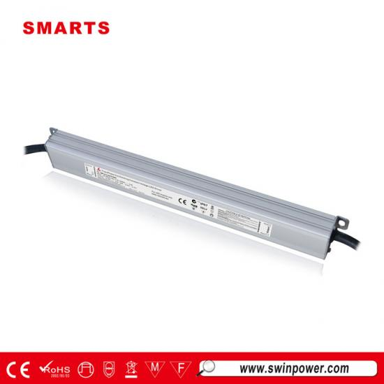 12V 30W SAA CE ROHS triac dimmable waterproof led driver