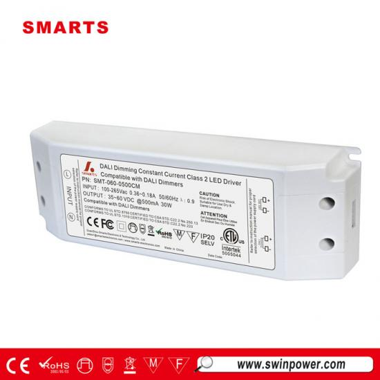 dali dimmable constant current led transformer