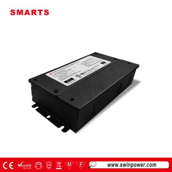 277vac triac dimmable led driver with junction box