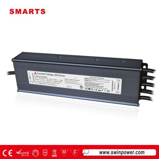 277vac 12v 300w waterpoof led driver