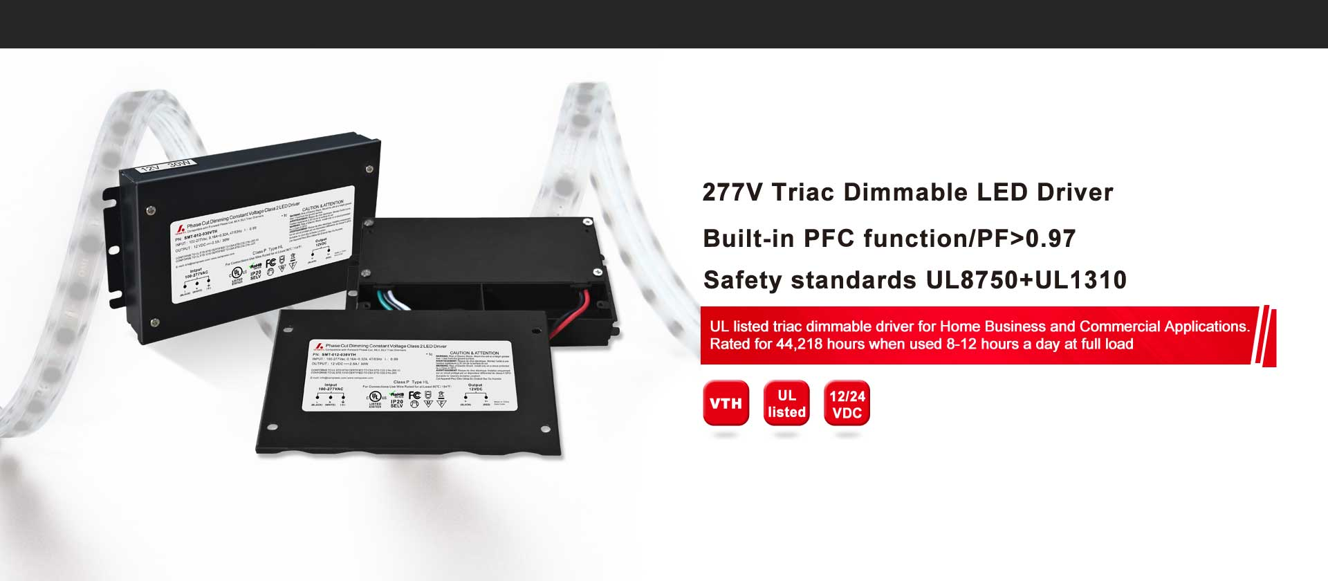 277V Triac Dimmable LED Driver